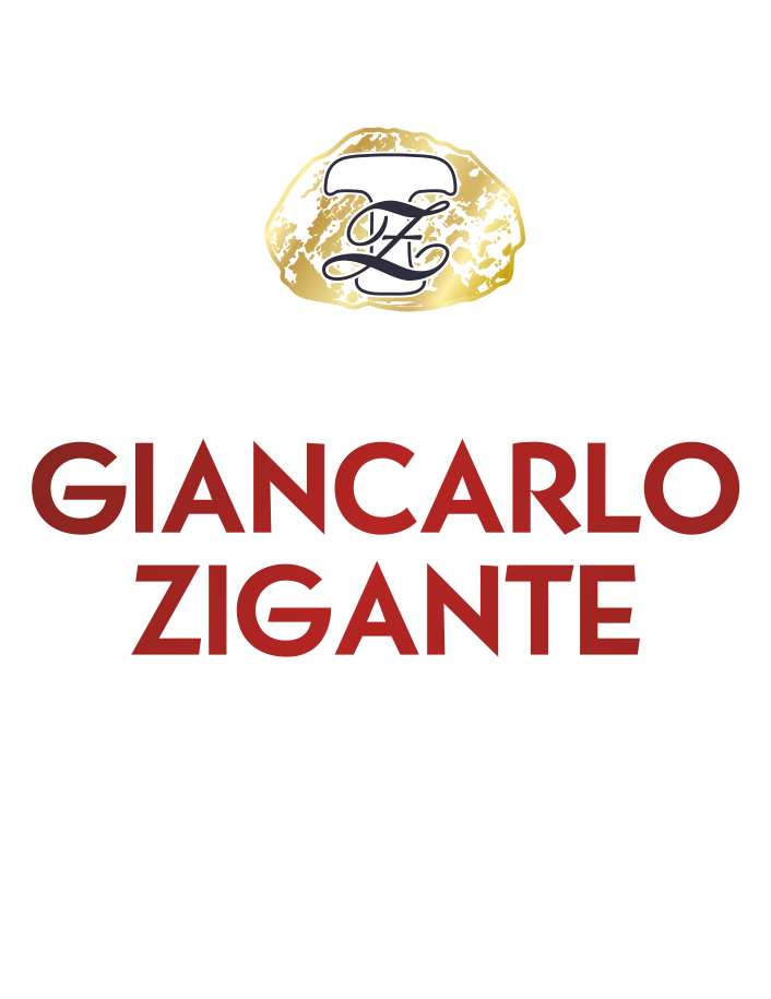 Logo ZT Giancarlo Zigante white